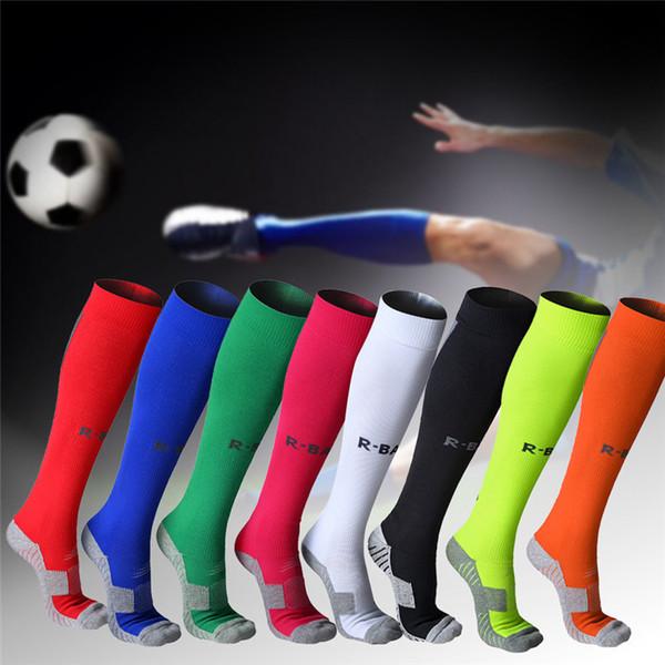 ac29371cc8 Cotton Men Male Football Socks Soccer Outdoor Running Basketball Socks  Sport Compression Stockings