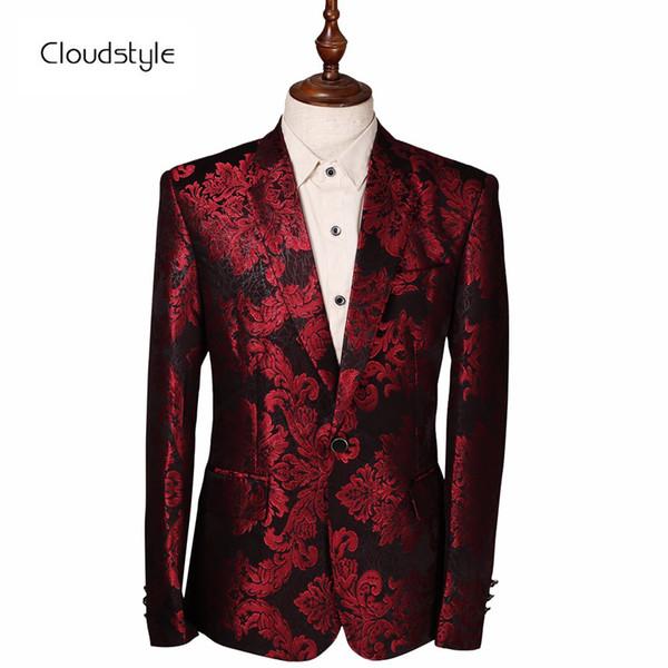 fiore rosso da giacca uomo