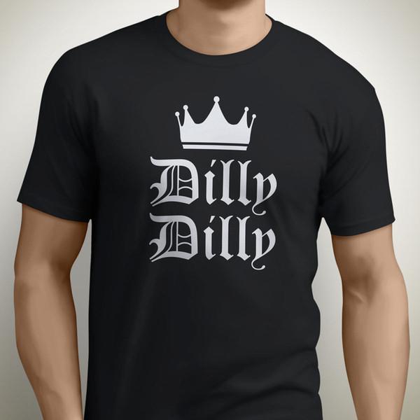 Engrenagem do Gorila - Dilly Dilly Coroa T Camisa, Bud Beer Slogan - Novos Todos Os Tamanhos O Pescoço Camisa Plus Size T-shirt Interessante