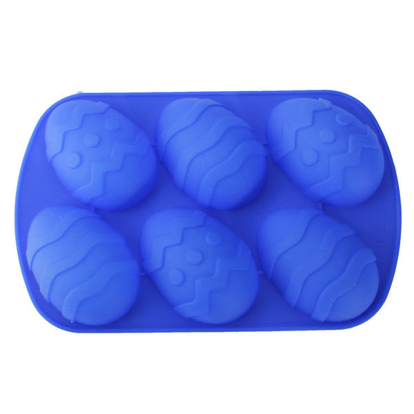 Easter Egg Silicone Candle Mold Cake Soap Maker Party Baking Mould
