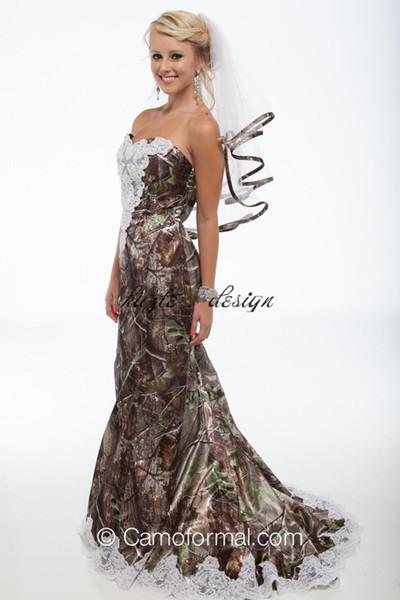 Venta al por mayor 2018 elegantes vestidos de novia de la sirena de ...