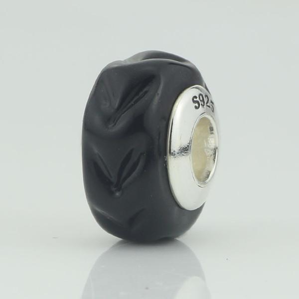 New Car Tire Class Charm Charm 925 Sterling Silver 4.5 mm Fascini Fit Fit Original Troll Collana di gioielli