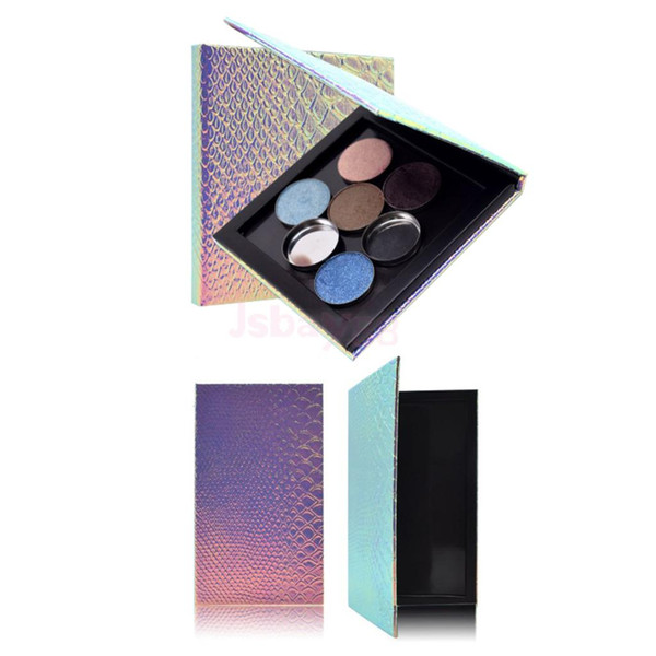 DIY Travel Empty Magnetic Palette Container Case Box Eyeshadow Blush Powder Makeup Pans Tin Holder Case Organizer Large Small