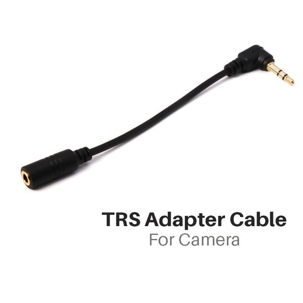 Ulanzi 3,5 mm TRRS-zu-TRS-Adapterkabel für Lavalier-Mikrofon für DSLR-Kamera-Zoom-Sprachrecorder