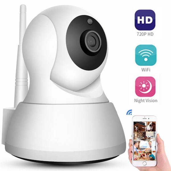 Security IP Cameras WiFi 720P Home Mini Wireless Network Surveillance CCTV Camera 360 degree Night Vision Baby Monitor