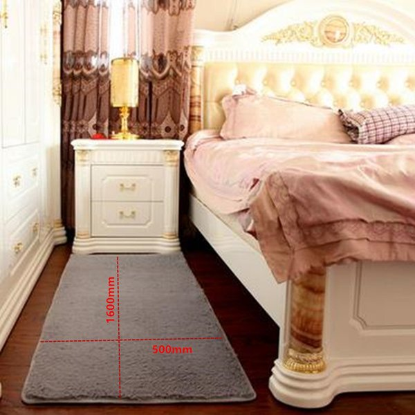 Free shipping offer every day silk carpet bedroom living room table window bedside carpet mats room can be customized