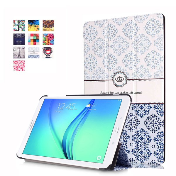 Case for Samsung TAB E 8.0 T377 Tablet Case, VTRONHYE Ultra Slim Standing Leather Protective Case for TAB E 8.0 SM-T377 8 inch
