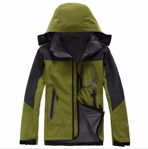 top popular 2018 Mens north Denali Fleece Apex Bionic Jackets Outdoor Windproof Waterproof Casual SoftShell Warm Face Coats Ladies 2019