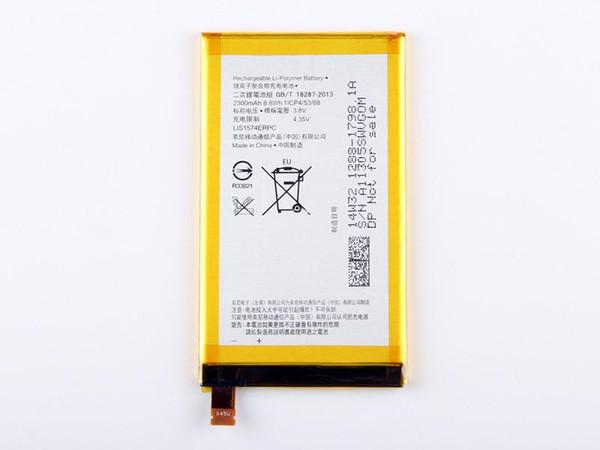 Venda quente 100% boa qualidade reparação de peças de reposição bateria lis1574erpc para sony xperia e4 e2003 e2033 e2105 2300 mah frete grátis