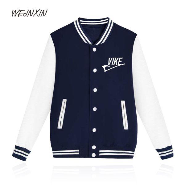 WEJNXIN New Design Viking Axe Sweatshirt Men Women Funny Vike Baseball Jacket Hip Hop Casual Hoodies Patchwork Brand Clothes