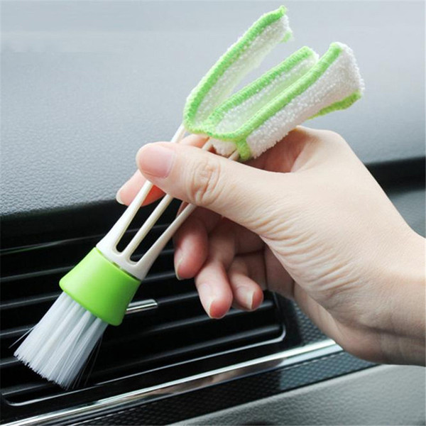 top popular High Quality car-styling brush car cleaning Automotive Keyboard Supplies Versatile Cleaning Brush Vent Cleaning Brush free shipping 2021