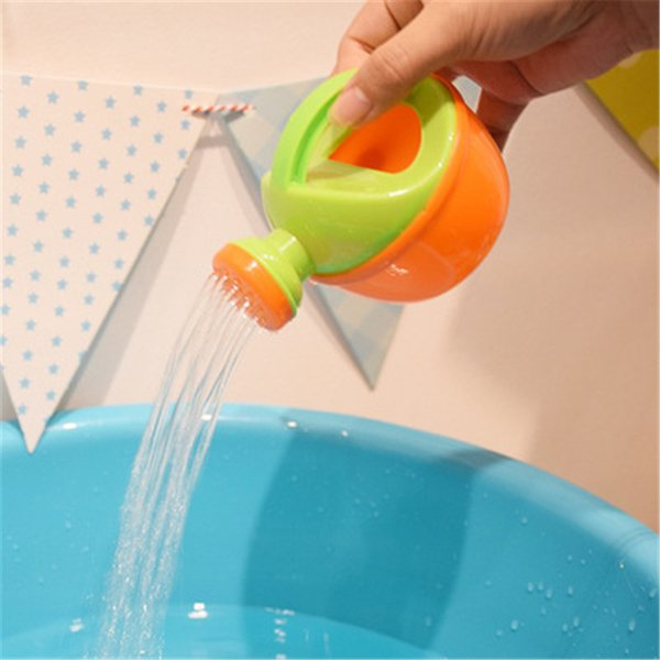 Baby Bath Toy Plastic Watering Can Watering Pot Beach Toy Play Sand Toy Gift for Kids High Quality Random Color