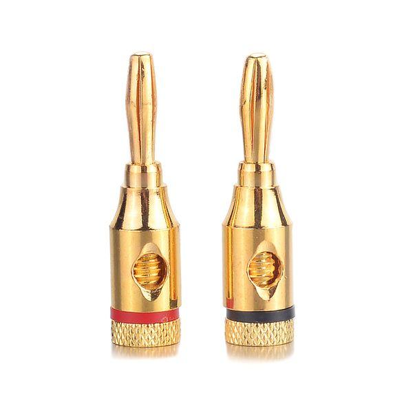 20Pcs Mini Gold-plated Copper Amplifier Speaker Binding Post Banana Jack Socket For Binding Post/Voice Box Of Amplifier For Car