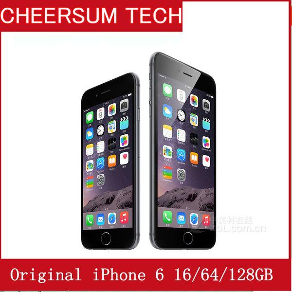 "Refurbished iPhone 6 6 plusCellphone 16GB 64GB 100% Original Apple iPhone 6 With fingerprint function 4.7"" 5.5'' Smartphone"