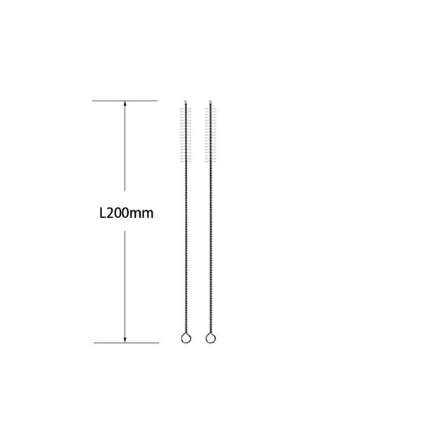 Cepillo de paja de 200 mm