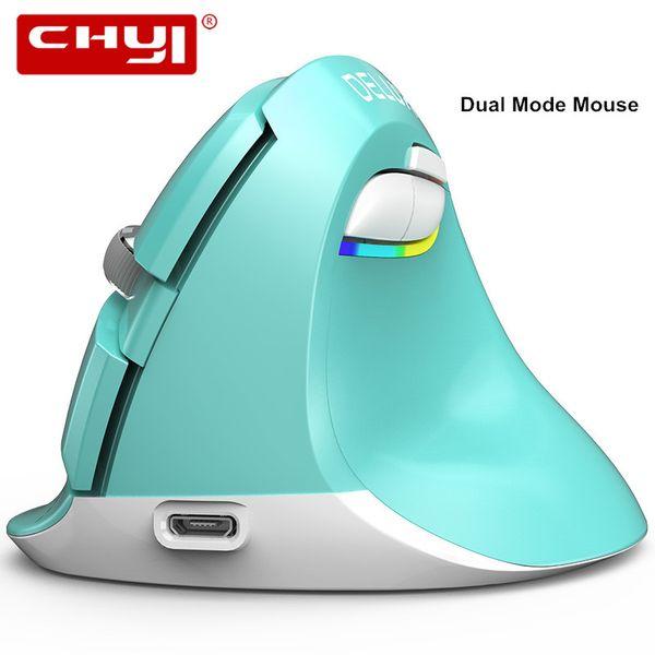 Delux M618 Mini 2.4 Ghz Sem Fio + Bluetooth 4.0 Modo Dual Mouse Ergonômico Gaming Mouse Mause Bateria Embutida com Mousepad tapetes