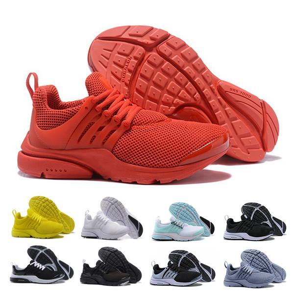 Großhandel Nike Air Presto Designer Rot Gelb Schwarz Weiß Blau PRESTO BR QS  Herren Damen Sport Laufschuh Heißer Verkauf Outdoor Turnschuhe ...
