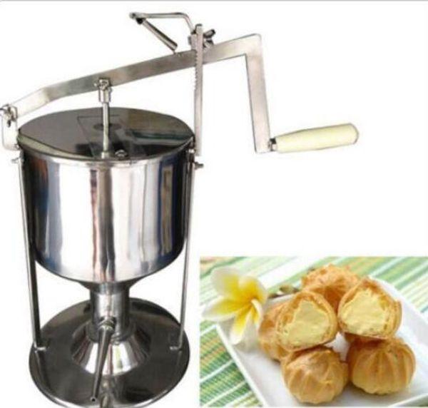 NUEVO Manual Donut Puff Filler Jelly Relleno Crema Rellena 5L Cocina Herramienta Cocinar 5L envío rápido