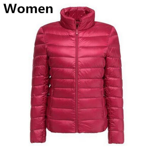 Женщин красный
