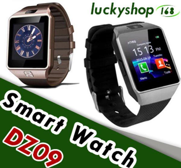 best selling DZ09 Smart Watch Dz09 Watches Wristband Android Watch Smart SIM Intelligent Mobile Phone Sleep State Smart watch Retail Package