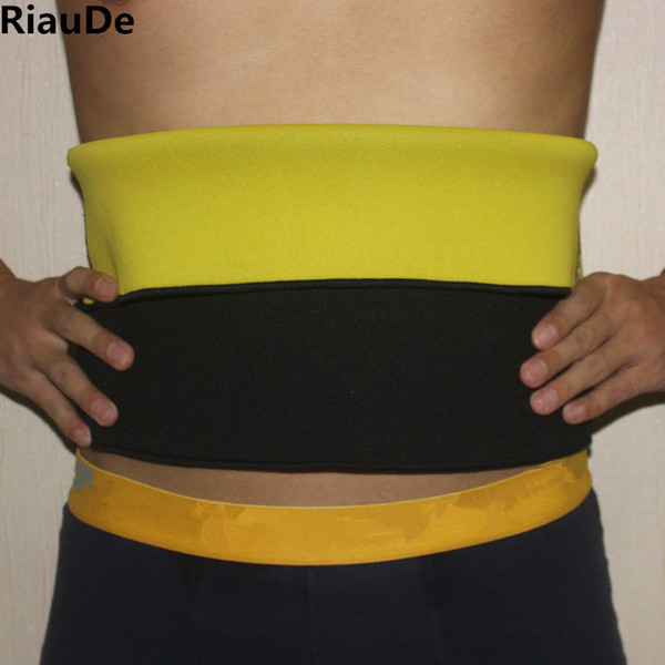 RiauDe Neoprene Waist Trainer Slimming Body Shapers Belt Hot Sale Compression Shapers Belts Natural Weight-Loss Hot Workout Belt