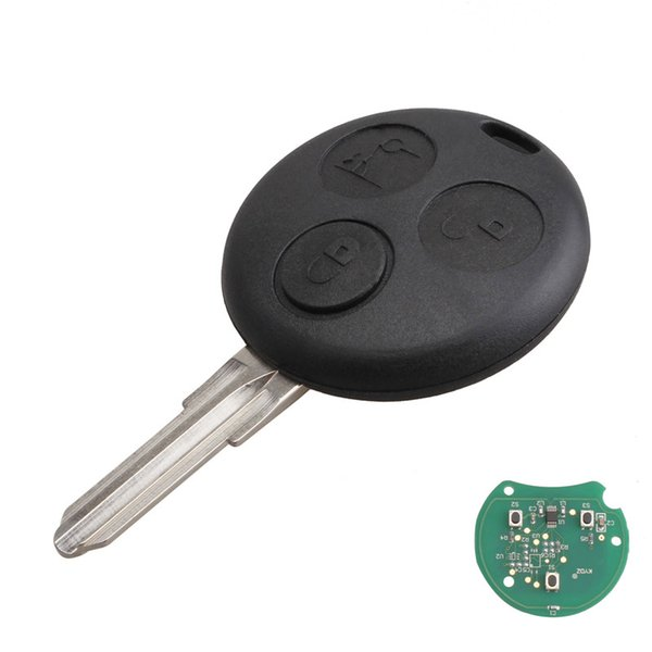433MHz 3 Buttons Keyless Uncut Flip Remote Key Fob for Benz KEY_11C
