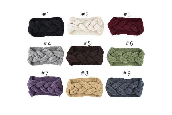 Trecce per capelli in maglia intrecciata per capelli, per capelli, accessori per capelli, accessori per capelli, per 9 colori