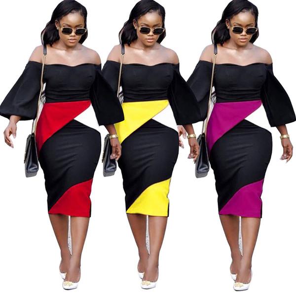 Новые женщины летняя мода карандаш Платье V-образным вырезом сексуальные платья плюс размер шить мода Bodycon платье S-XXXL