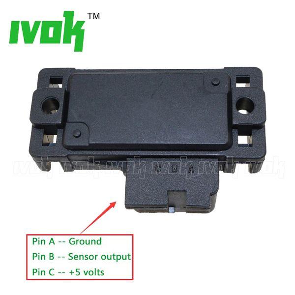 Brand New 1 Bar Map Sensor For GMC C1500 C2500 G1500 G2500 G3500 Jimmy Sonoma Typhoon Yukon 16137039, 12569240, MSD-2311, 16175339, 16017460