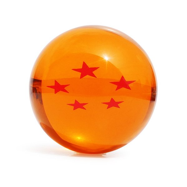 Dragon ball Z star crystal ball Big Size DIN:3.0 Inch(7.5CM) In Box Can Choose Free Shipping
