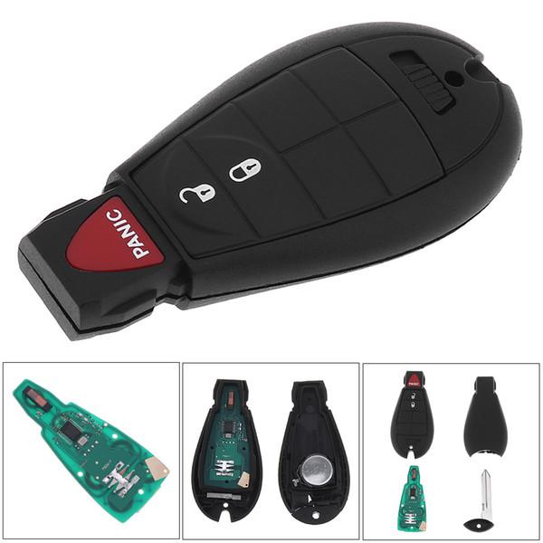 433 МГц 3 кнопки режиссерский замена Keyless Entry брелок дистанционного передатчика брелок IYZ-C01C / M3N5W783X для Dodge Chrysler KEY_10Q