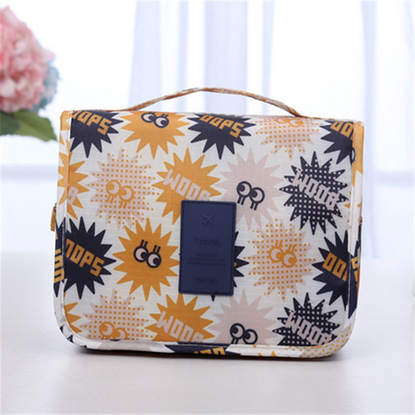 927e3e150 Fine Comestic Bags For Mum Men Women Bathroom Travel Sundries Folding  Package Bag Nylon Print Tote