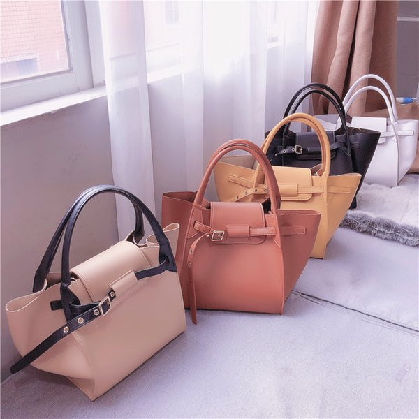 2019 Fashion Razaly brand high quality designer large capacity woman handbag neverful bag pu leather big tote