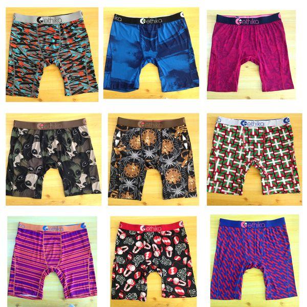 best selling Promotion !Random styles Hot Ethika Men's Staple underwear sports hip hop rock excise underwear skateboard street fashion streched quick dry
