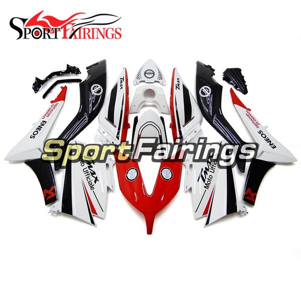 Neue Motorräder Komplette Verkleidungen Für Yamaha TMAX XP530 T-MAX XP530 2015 2016 ABS Kunststoff Motorrad Body Kit Weiß Rot Schwarz Karosserie Rumpf