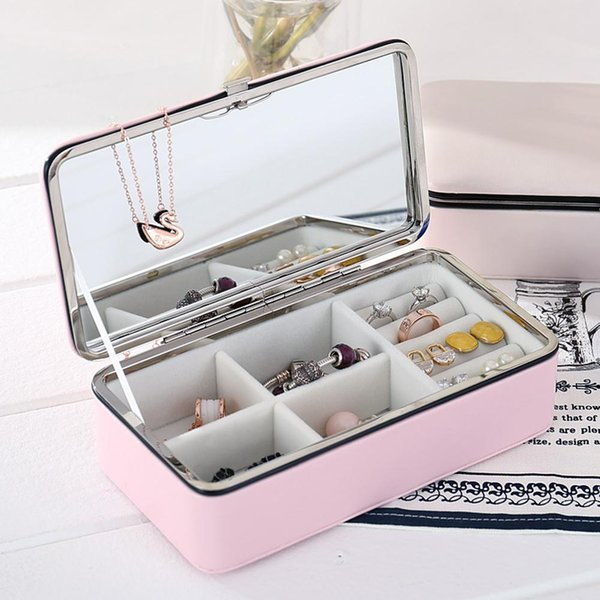 CHUWUJU Cosmetic Storage Box Casket For Exquisite Makeup Case Cosmetics Beauty Organizer Container Graduation Birthday Gift