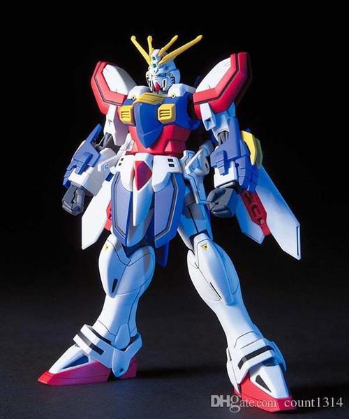 Wholesale 1PCS bandai HGUC 110 1/144 HGFC GF13-017NJII Gundam Mobile Suit Assembly Model Kits Anime action figure lbx toys