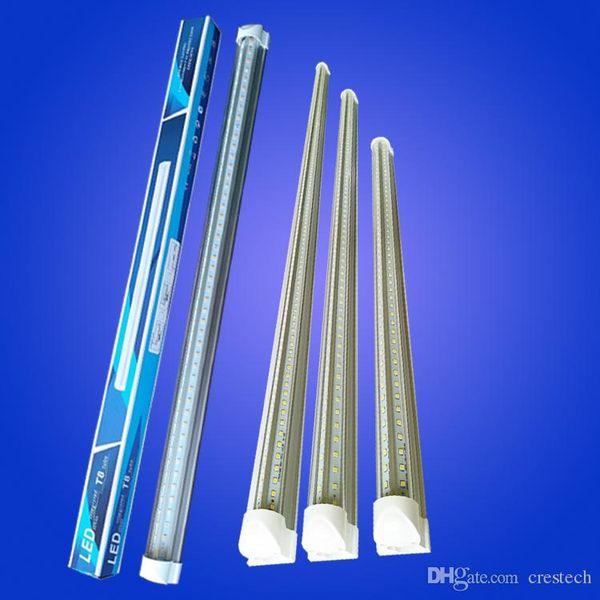 New arrive 2ft 18W V-Shaped T8 Led Tubes 600mm Cooler Light Led Fluorescent Tubes Lamp energy lightbulbs AC 110-240V CE UL
