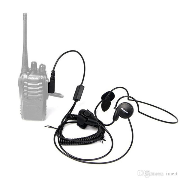 New 2 Pin Mic Finger PTT Headset for Kenwood Baofeng uv 5r H777 888s HYT PUXING Walkie Talkie CB Radio