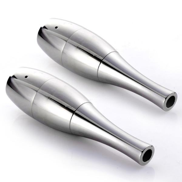 Vase Cannon Bowling Atomizer Wax Dry Herb Vaporizer Dual Quartz Coil Dual Vase Atomizer fit 510 ego Battery