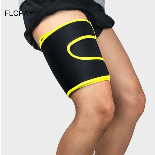 8b7fc59d668dc 1PCS Sport Thigh Guard Protector Pads Support Fitness Leggings leg Knee  Support Sports Safety Thighs Legguards Football Ride Leg