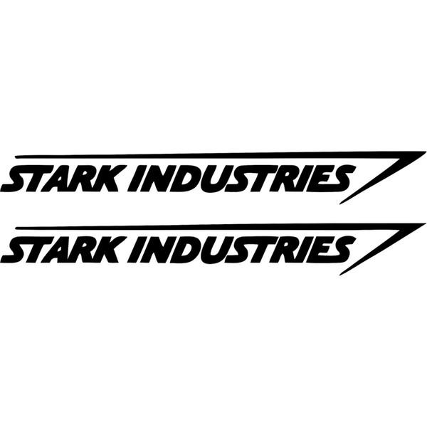 Vendita calda Grafica cool Stark Industries Adesivo Decalcomania del vinile Marvel Iron Man Avengers Car Window Car Stying JDM