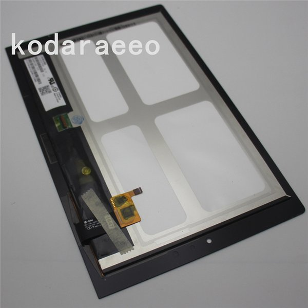 kodaraeeo For Lenovo Yoga Tablet 2 1051 1051F Touch Screen Digitizer Glass+LCD Display Assembly Panel Replace Free Shipping