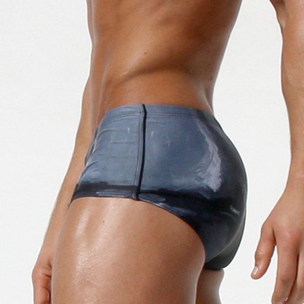 Nouveaux hommes gais maillots de bain maillot de bain Plus la taille Sexy Boardshorts Slip de bain Homme Bikini Sunga Brazilian Bulge Maillot