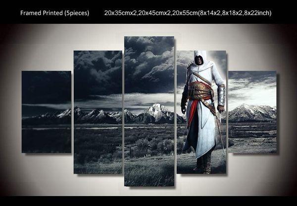 Cuadros de la película Cuadros Arte de la pared Sin marco Grupo Pintura sobre lienzo Decoración de la habitación Imprimir imagen Asesinos Creed poster
