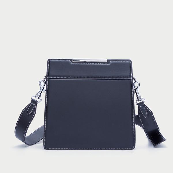 3785193282 women 2018 new leather handbags shoulder Messenger bag vertical models  square commuter leather Crossbody bag bags women