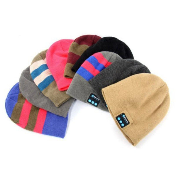 Wireless Outdoor Bluetooth Music Warm Beanie Hat with Stereo Headphone Speaker E294