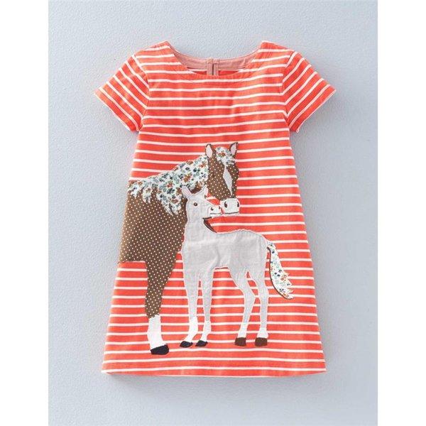 T6542 Orange horse