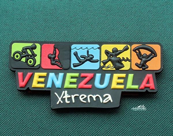 Venezuela, Extreme Sport, Funny Rubber Fridge Magnet Tourist Travel Souvenir GIFT