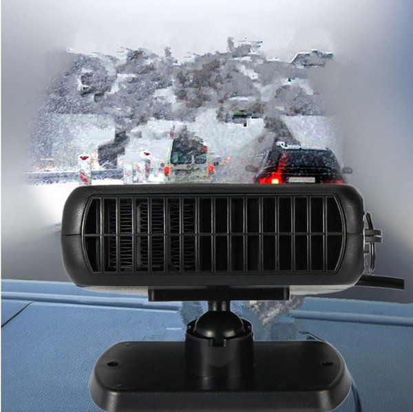 New Car Heater Heating Fan 2 in 1 12V 150W Dryer Windshield Demister Defroster For Vehicle Portable Temperature Control Device